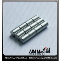 China Permanent Strong ndfeb cylinder magnet wholesale