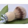 China Customed silvertip badger shaving brush metal base , shaving razor brushes wholesale