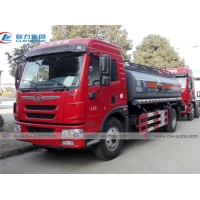 Buy cheap FAW Long V 10Ton 10000L Liquid Ammonia Chemcial Tanker Truck with Yuchai Engine from wholesalers