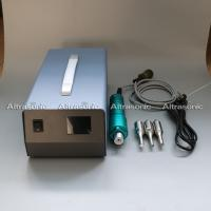 China 28Khz Ultrasonic Portable Spot Welder With Digital Generator Titanium Horn wholesale