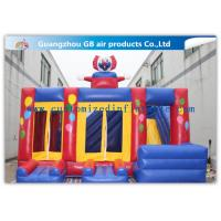 China Funny Safety Childrens Inflatable Bouncy Castle With Slide Combo Customized wholesale