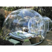 China Outdoor Inflatable Tent / Inflatable Bubble House For Exhibition With 0.45MMPVC on sale