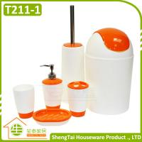 Buy cheap Low Price High Quality Accessory New Design Mix Color Accessories Bathroom Set product
