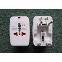 China 110v-250V 10A Universal travel adaptor with Surge protector with child portection shutter electric plug adaptor NO.931L wholesale