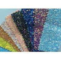 """China Fashion Chunky Glitter Fabric 3D Glitter Fabric For Hairbows 54/55"""" Width wholesale"""
