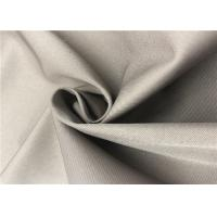 China 2/1 Twill Coated Polyester Fabric Cold Proof Anti Friction For Jacket / Winter Coat wholesale