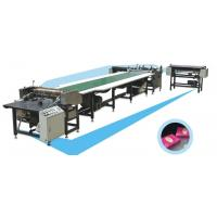 China Automatic Cross Double Sided Lapping Machine For Polyester Fiber Fabric wholesale