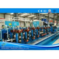 China Friction Saw Precision Tube Mill Galvanised Coil Automatic Control 80m / Min Running wholesale