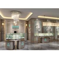 China Luxury Modern Jewelry Shop Display Cabinets / Jewellery Showroom Furniture wholesale