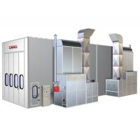 Quality Custom Auto Downdraft Industrial Spray Painting Booths 20000*5000*5000mm for sale