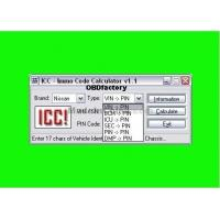 China Original ICC IMMO Calculator, Automotive Diagnostic Software for Nissan and Infinity wholesale