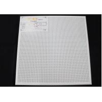 China Perforated Suspended Acoustic Ceiling Tiles wholesale