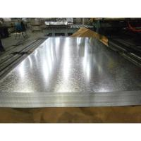 China Zero Spangle Hot Dipped Galvanized Steel Sheet , Anti-Finger Treatment ( Acrylic coating ) wholesale