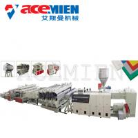 China PVC Free Foam Sheet Foam Plate Making Machine 10-20T For Mounted Panels wholesale
