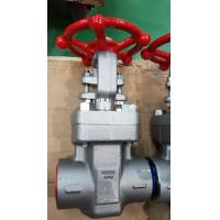 China Forged NPT Wedge Gate Valve Threads Ends Connection With Compact Structure on sale