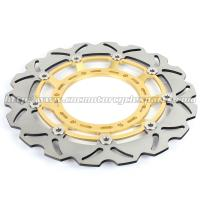 China 320mm Durable Wave Floating Motorcycle Brake Discs for Yamaha XT600X wholesale