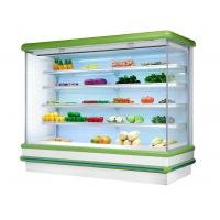 China Dairy / Drinks / Vegetable Multideck Open Chiller with 4 Layers Shelf European Design wholesale