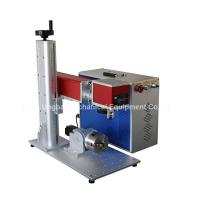 Quality Mini Type Fiber Laser Marking Machine for Logo Marking for sale