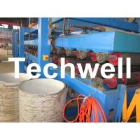 China Rock Wool Insulated Sandwich Panel Cold Roll Forming Machine 0 - 4.05 m / Min Speed wholesale
