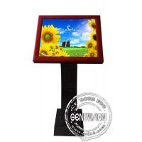China Full HD Sensor Touch Screen Kiosk Digital Signage , 19 Inch LCD Advertising Players wholesale