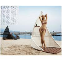 China Outdoor furniture outdoor rattan shower cubic -16022 wholesale