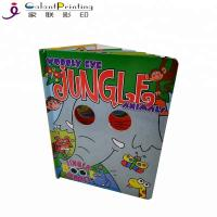 China A4 A5 A3 Paper Printing Services Kids Board Books Glue / Sewing Binding wholesale