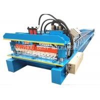 China 380v 3kw Galvanized Corrugated Roof Sheet Roll Forming Machine Manufacturer wholesale