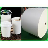China Eco Friendly 210gsm + 26g PE Coated Cupstock Paper Roll Food Grade Waterproof wholesale