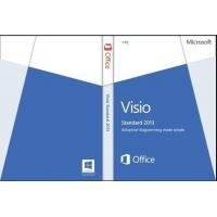 China 32/64- Bit Microsoft Office Visio Standard 2013 License And Download wholesale