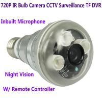 China 720P IR Night Vision LED Array Bulb Camcorder CCTV Surveillance DVR Camera Remote Control wholesale