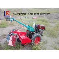 China 12HP Household Two Wheels Walking Agricultural Tractor 9.35kw Agriculture Machine wholesale