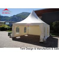 Buy cheap 4x4m double PVC Coated Polyester Textile Pogoda Event Tent With Sidewall from wholesalers