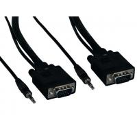 China SVGA HD15 M/M Monitor Cable with Stereo Audio wholesale