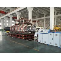 China HDPE Double Wall Corrugated Pipe Production Line / DWC Extruder Machine 500-1000mm on sale