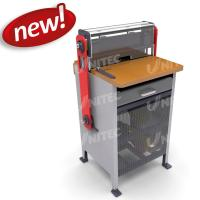 China Durable Tabletop Heavy Duty Punching Machine With With Wire Closing System wholesale