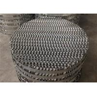 China Perforated Plate Distillation Column Packing / Packed Tower Distillation Structured Tower wholesale
