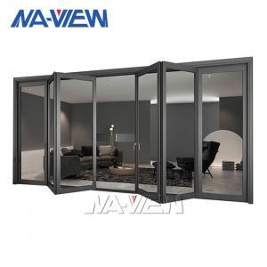 China Anodizing Aluminium Bifold Windows Patio Folding Doors And Windows wholesale