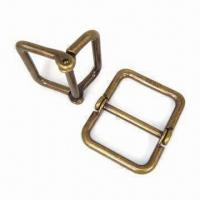China 1-inch Swivel Belt Buckles, Made of Lead-free Zinc Alloy, Come in WH12 wholesale