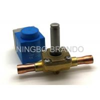 Normally Closed EVR Refrigeration Solenoid Valve Air Conditioning , Solenoid Operated Valve