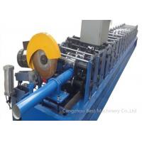 China High Technology GGPI Down Spout Roll Forming Machine 9mx1.4mx1.4m Dimension wholesale