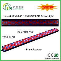 China 1200mm Hydroponic Led Grow Light 1200mm For Greenhouse , Energy Saving wholesale