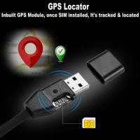 Quality New 3-In-1 USB Data Cable Android/iPhone+Hidden Spy GSM Remote Audio Listening Bug+GPS Tracking Position GSM Locator for sale