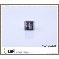 Quality OEM / ODM customed logo 6# 316l stainless steel ring H-JK0028 with factory price for sale