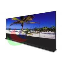 China Touch Screen Video Wall With Cupboard , Big Advertising Screen Slim Bezel Monitor on sale