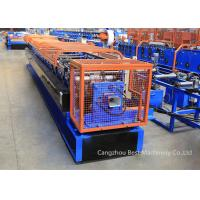 China Color Steel Sheet Rain Water Downspout Roll Forming Machine Chain / Gear Box Driven System wholesale