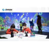 China Magic Painting Interactive Touch Screen Projector Multiplayer Available Infrared Sensing Radar wholesale