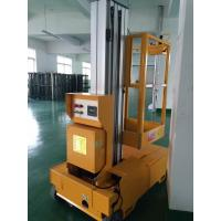 China Self Propelled Electric Cherry Picker Single Mast Aerial Platforms Manlift wholesale