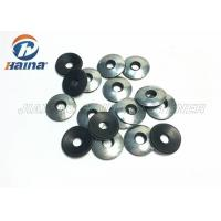 Quality EPDM Rubber Flat Washers Galvanized Black Color Steel For Self Drilling Screw for sale