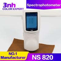 China 3nh NS820 Portable Cpaint Matching Spectrophotometer 4mm Small Aperture Color Difference Meter wholesale