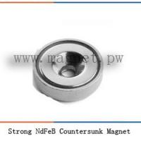 China Strong NdFeB Countersunk Magnet on sale